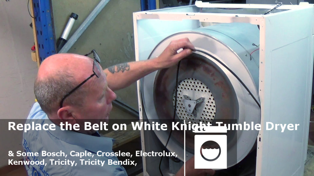 Replacing White Knight Tumble Dryer Belt