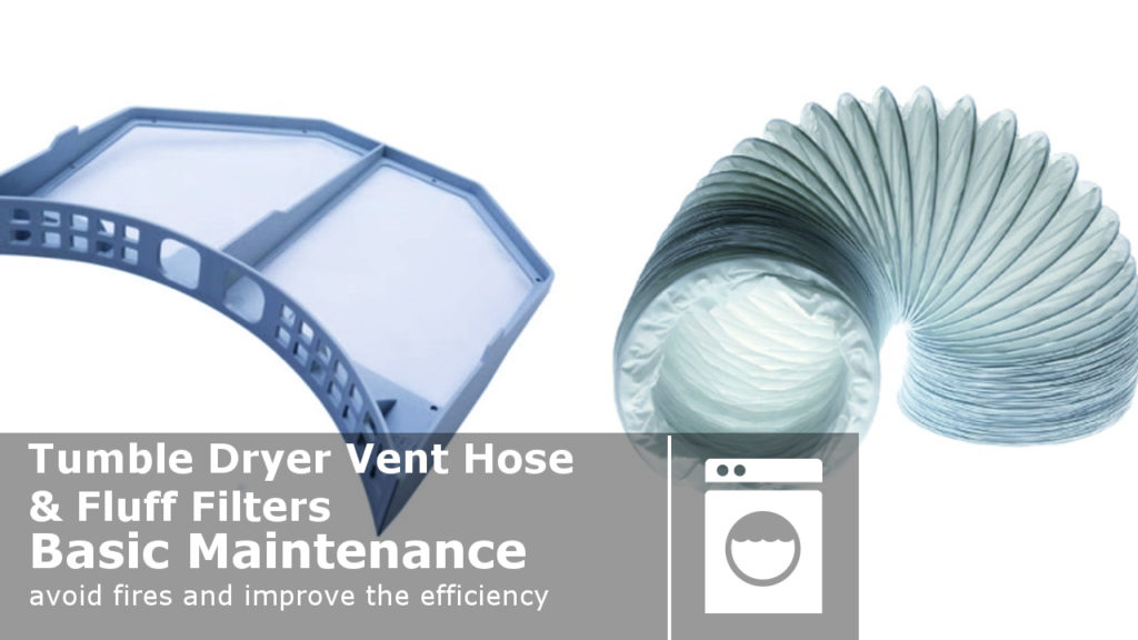 Tumble Dryer Vent Hose Amp Fluff Filters Basic Maintenance