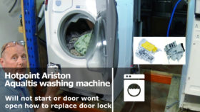 washing machine door lock | How to Repair