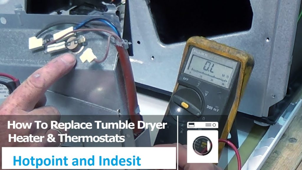 How To Replace Heating Element Hotpoint Indesit Tumble Dryer