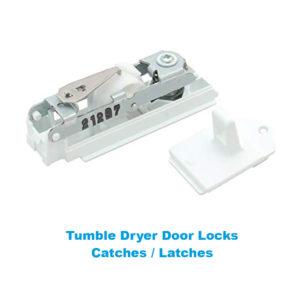 Tumble Dryer Door Lock Latch Catch