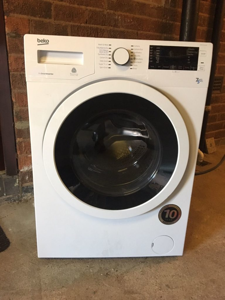 Beko WDR7543121 Washing Machine Won't Drain