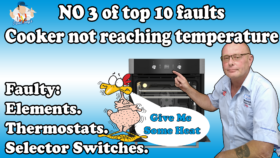 No Heat in Oven, Cooker not reaching temperature or cooking evenly