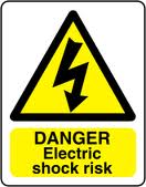 Domestic Appliance electricity warning